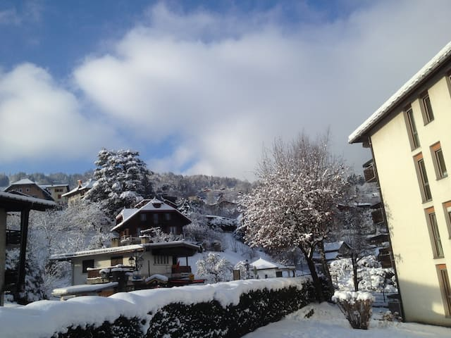 Perfectly located Studio for town, skiing & walks - Saint-Gervais-les-Bains - Byt