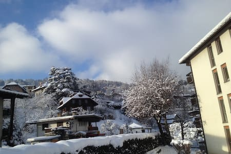 Perfectly located Studio for town, skiing & walks - Saint-Gervais-les-Bains - Apartament