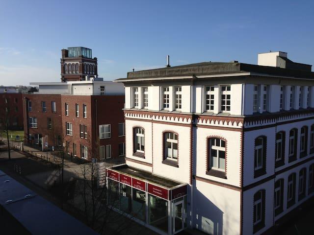 Penthouse im Zentrum und historischen Viertel - Nordhorn - Appartement
