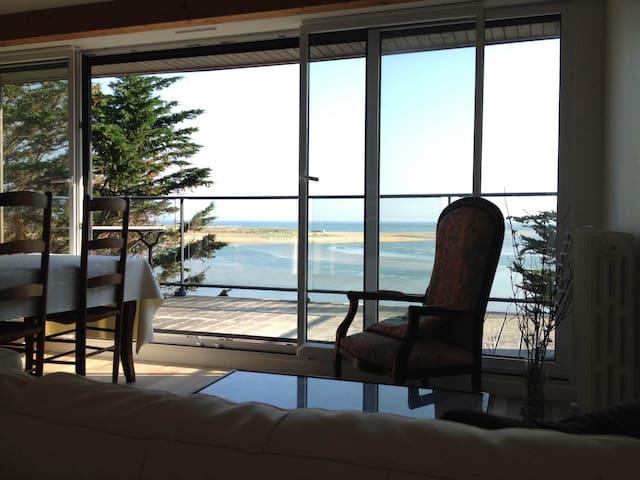 Appartement T4 vue sur mer - Guidel - Apartamento