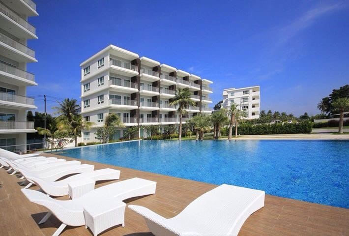 The Sea Condo@Dolphin Bay, Pranburi - Pran Buri - Apartemen