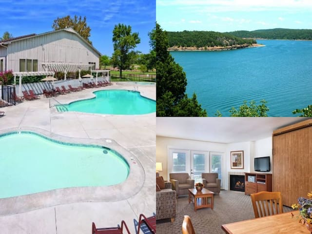 Grand Lake 2 Bed/2 Bath Condo Resort ~Pool~Hot Tub