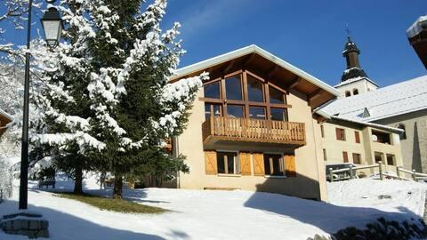 Chalet les Zébudanes : bon plan ski et nature!