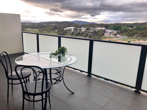 Top floor Apt with a view in central location