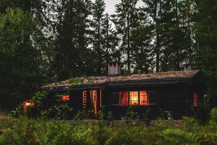 Rustic, Secluded Cabin in the Oslo Forest