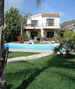 A luxury villa in beautiful gardens - Pissouri