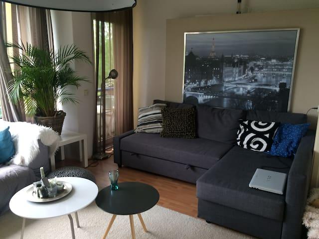 Ruim appartement in rustige buurt - Nijmegen - Apartament