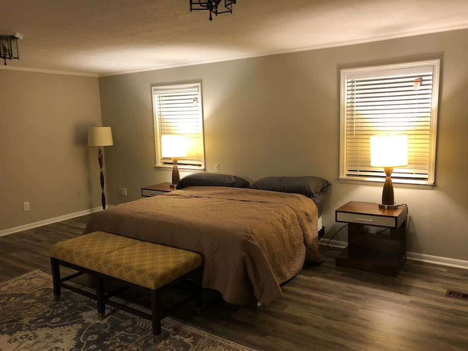 Master Bedroom with California King second floor