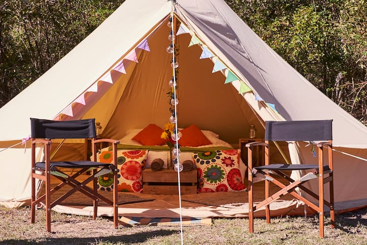 Luxury Glamping Bell Tent in Royal National Park - Royal National Park - Çadır
