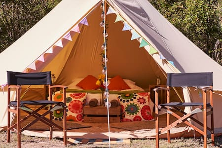 Luxury Glamping Bell Tent in Royal National Park - Royal National Park