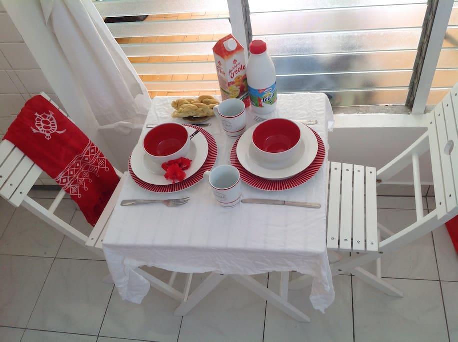 vive le petit déjeuner!