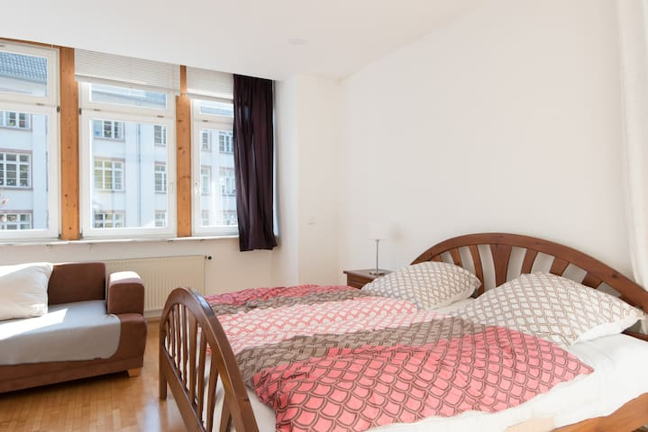Ruhige Wohn. 60 m2, 10 min Zentrum - Heidelberg - Apartment