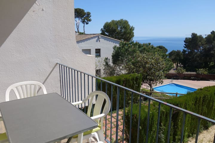STUDIO WITH SWIMMING POOL IN CALELLA DE PALAFRUGELL - Calella De Palafrugell - Apartment