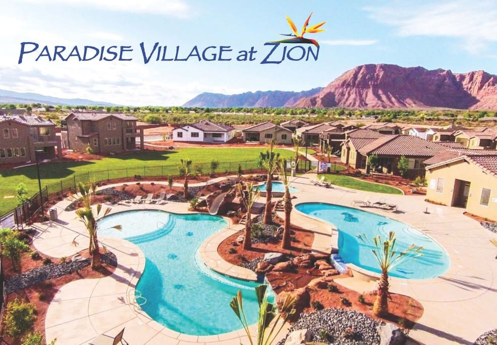 Enjoy Paradise Village with groups and families and be together