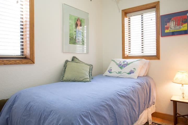View of Second Bedroom with twin bed.