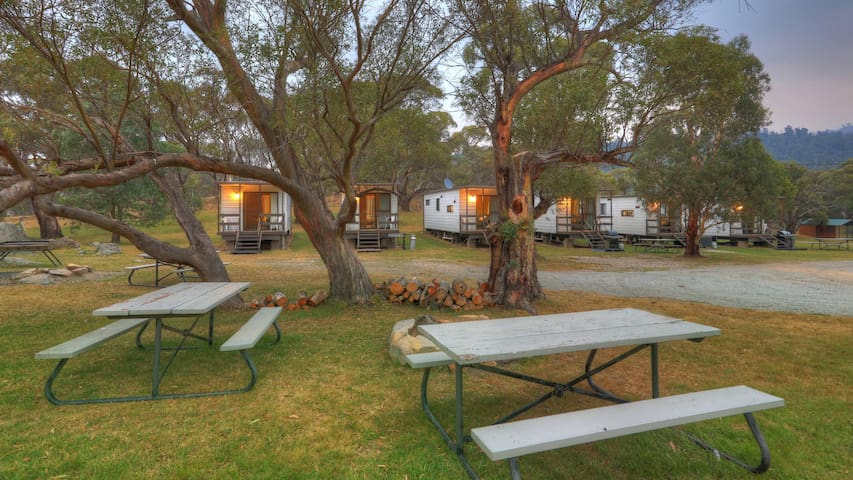 Pender Lea has 6 budget friendly self contained park cabins