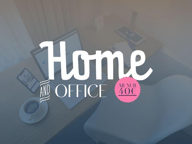 Hotelzimmer als Home-Office Alternative 8 - 18 Uhr