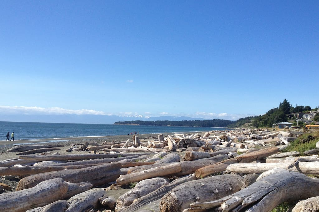 Spend the day at the beach you can walk to! Over 2km long - known locally as Esquimalt Lagoon- located in Colwood.