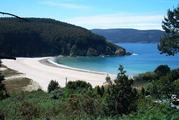 Casa a 500 m de la playa de Xilloi - O Vicedo - Huis