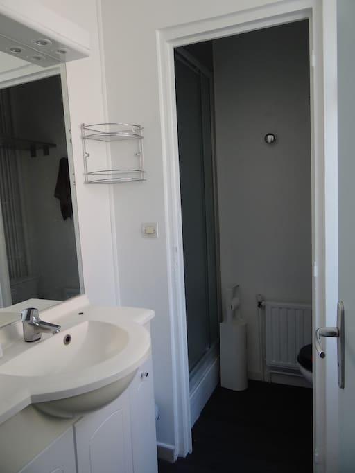 rez de chaussée: salle de bain