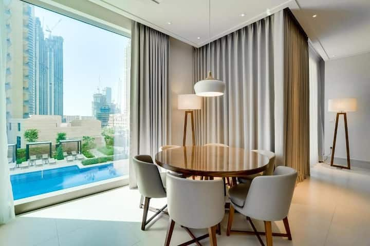 Vida Residences Downtown, Two Bedroom Full View