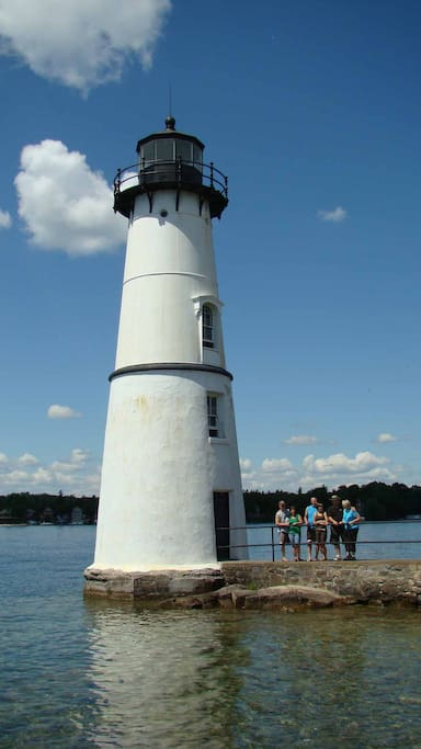 Rock Island Light House now open to the public.