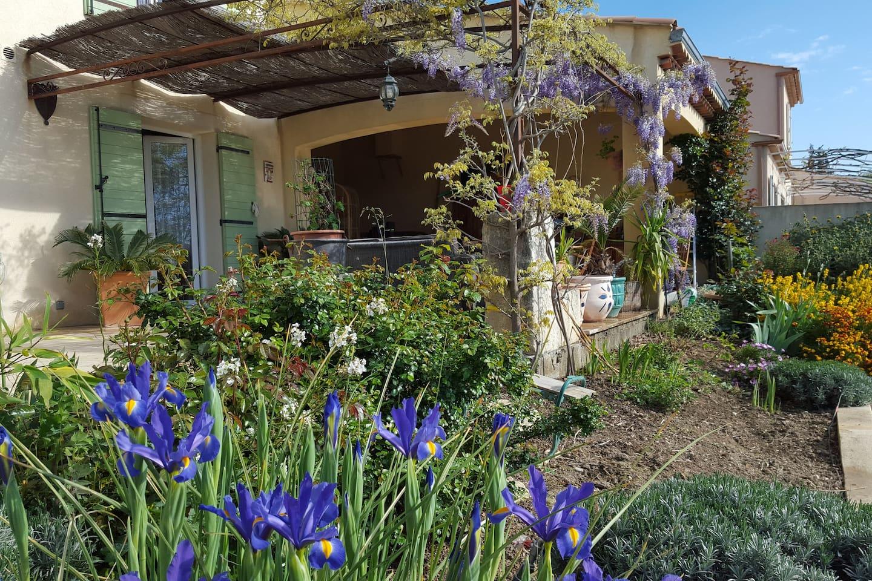 Chambre villa Provence pension complète découverte