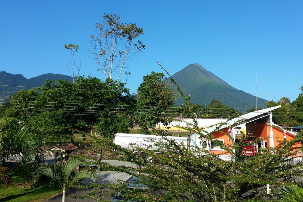 View of Arenal Volcano from Condo's