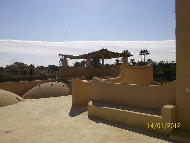 Gîte  Lac Qarun au Fayoum Egypte
