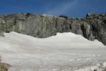 The Serra da Estrela Mountains in winter