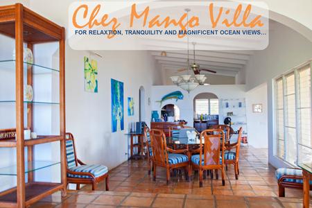Chez Mango Luxury Oceanview Villa - Haus