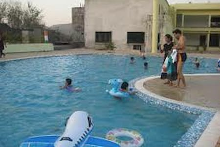 2BHK Villa with common Swimming Pool & Rain Dance - Karjat