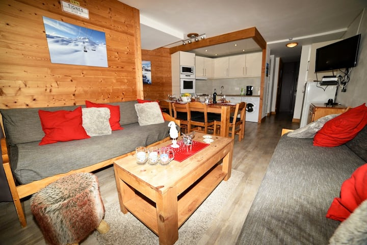 GRAND APPARTEMENT TIGNES VAL CLARET