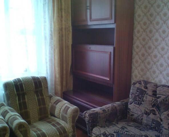 3-х комнатная квартира в тихом и уютном месте