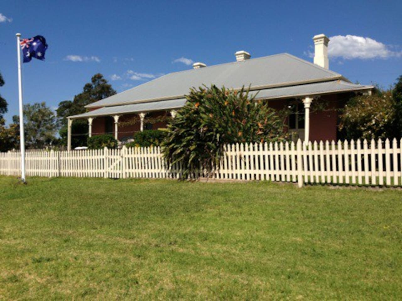 Toongla is an 1873 Heritage home with panoramic views and magnificent