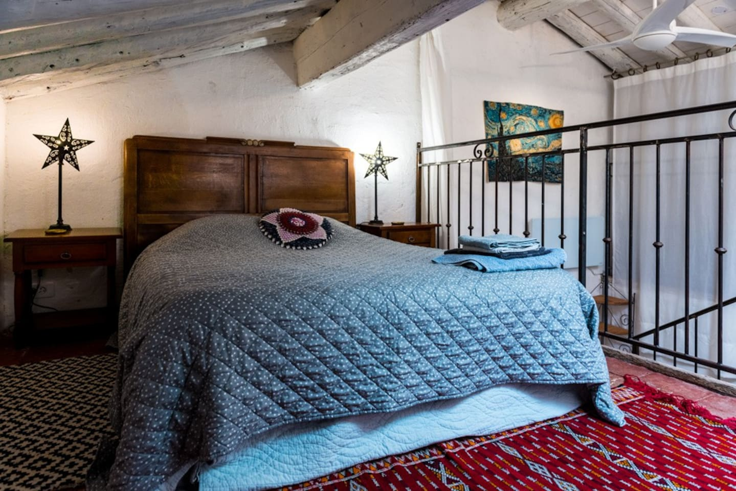 A double bed to dream in