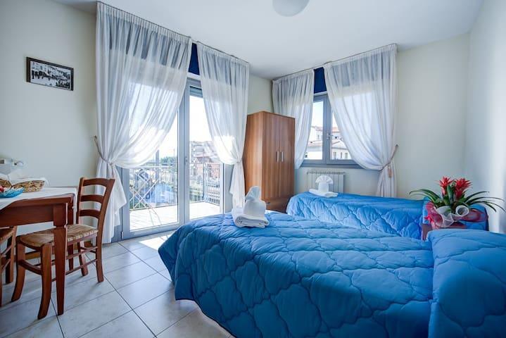 bilo 5pax, centro, park, wifi, b&b - Arezzo - Bed & Breakfast