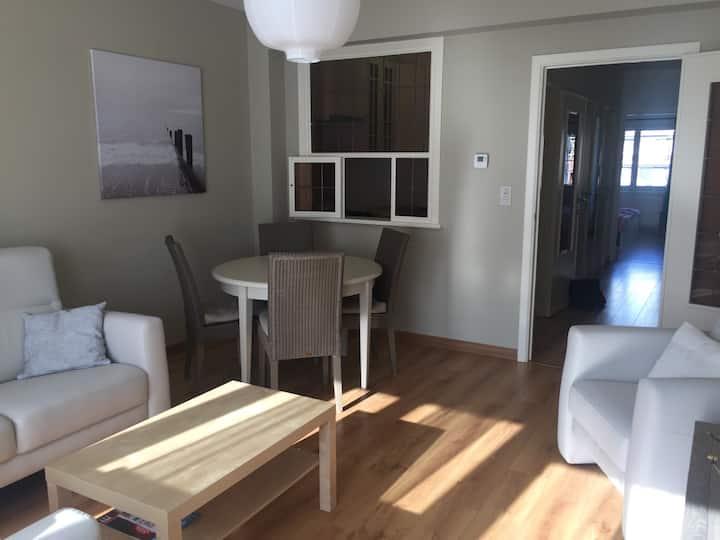 Zonnig appartement voor 4 personen te Westende