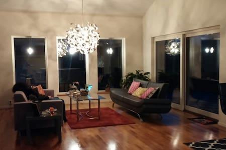 Fint rum i modern villa på Torpa - Jönköping - 獨棟