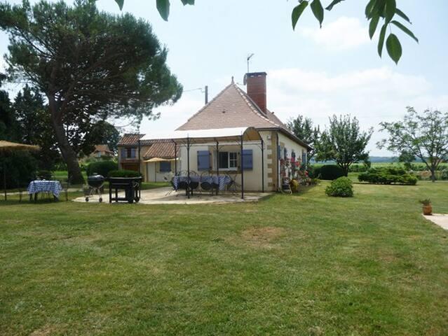 Maison de charme 3*, parc 1ha, cheminée