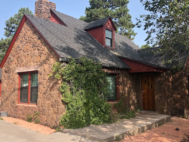Historic Stone House at Forest & Beaver
