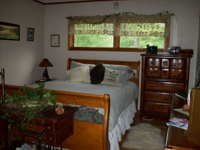 MASTER BEDROOM WITH ATTACHED BATH - Remsen - Bed & Breakfast