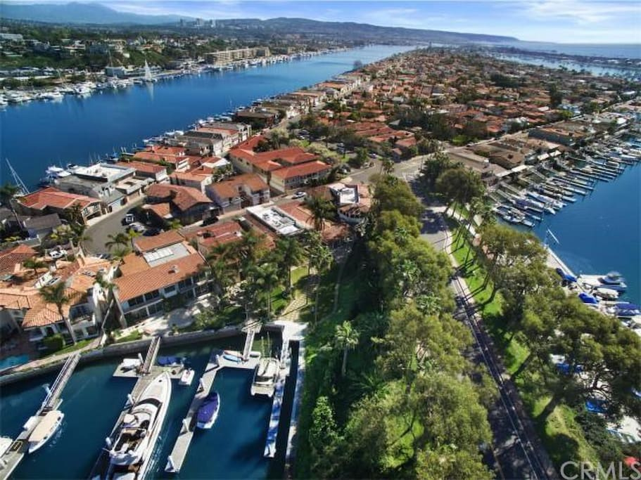 Exclusive Lido Isle in the heart of Newport Beach. Surrounded by Water, boats, tranquility.