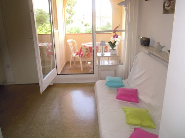 Studio - 250 m from the beach - Leucate - Byt