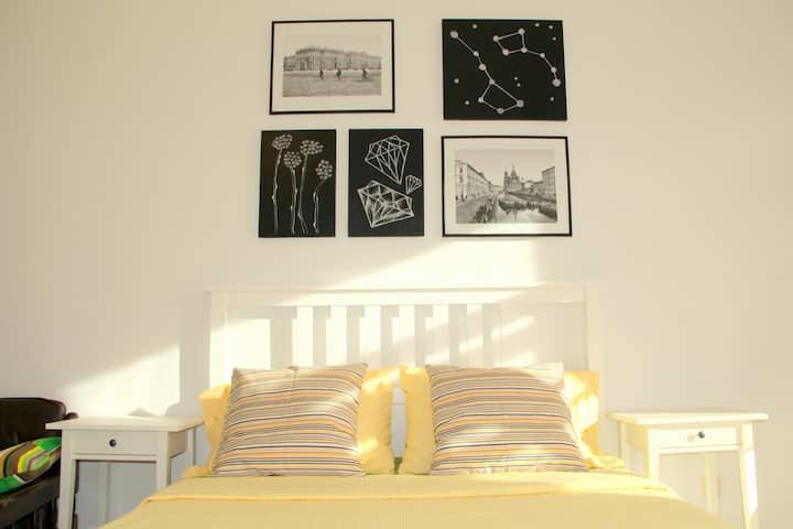 Уютная комната в центре СПб №3
