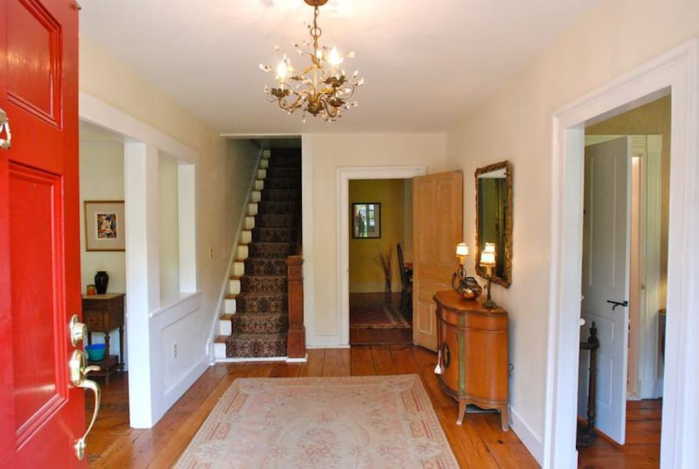 Welcome... entry foyer