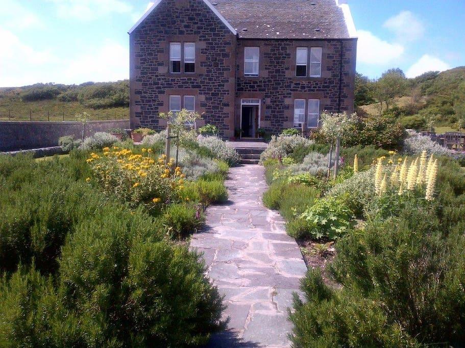 Loch Gorm House from the beach
