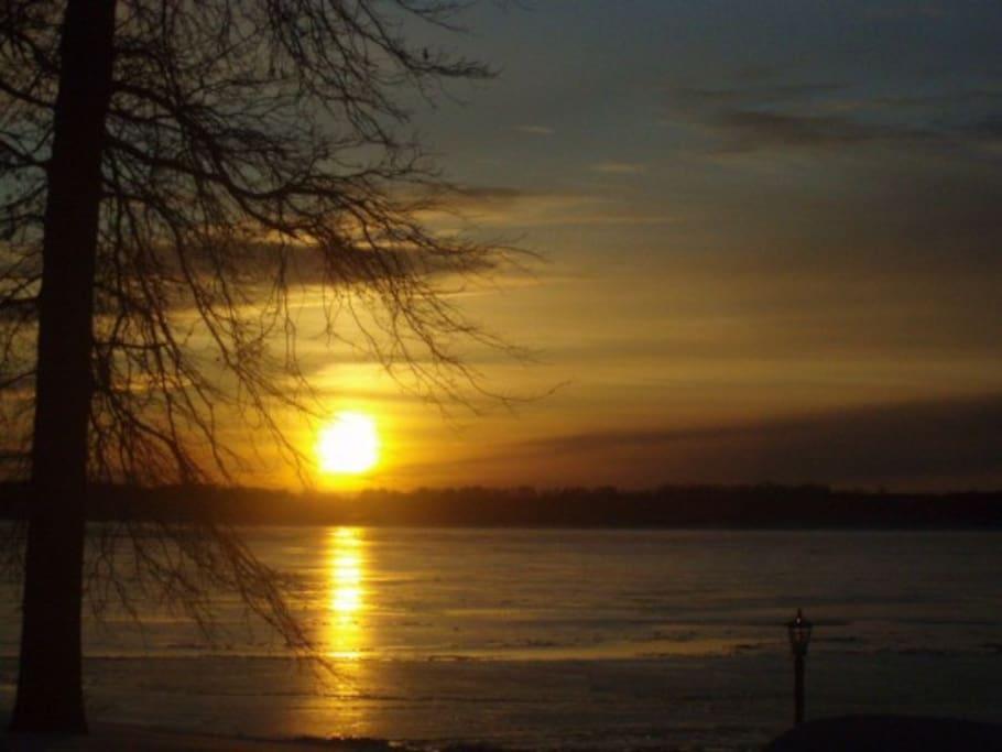 Lovely sunset views