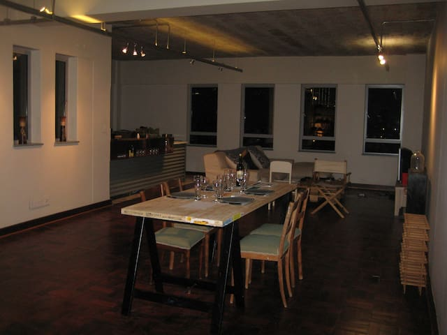Lounge, just before a fantastic dinner!