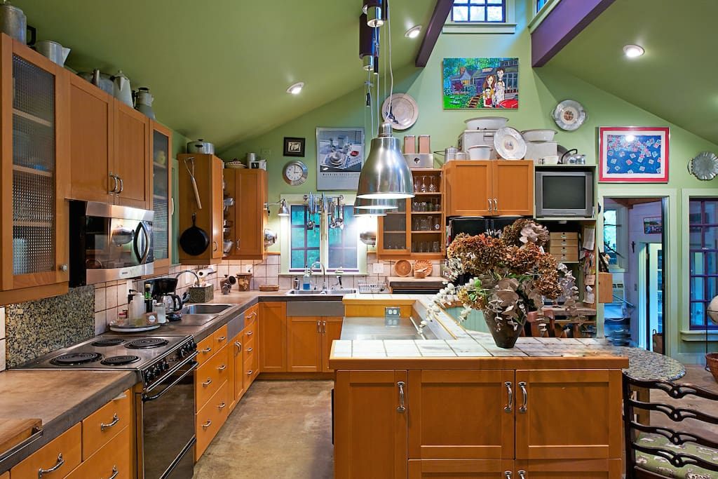 """The """"Big House"""" kitchen"""